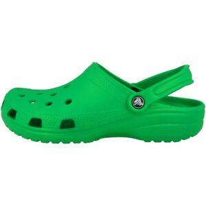 CROCS CIABATTE classiche sandali scarpe unisex da Spiaggia Zoccoli ERBA GREEN