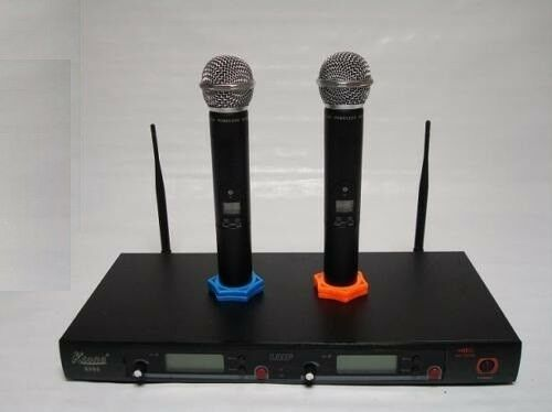 200Ch Wireless UHF Hand held Microphone Mic System