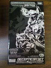 Transformers E-hobby United Decepticon Set Galvatron Cyclonus Scourge NEW