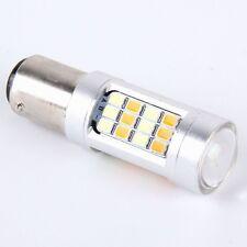 2 PCS 1157-2835-42SMD 20W White+Yellow Light Turn Signal Light_DC 12-24V
