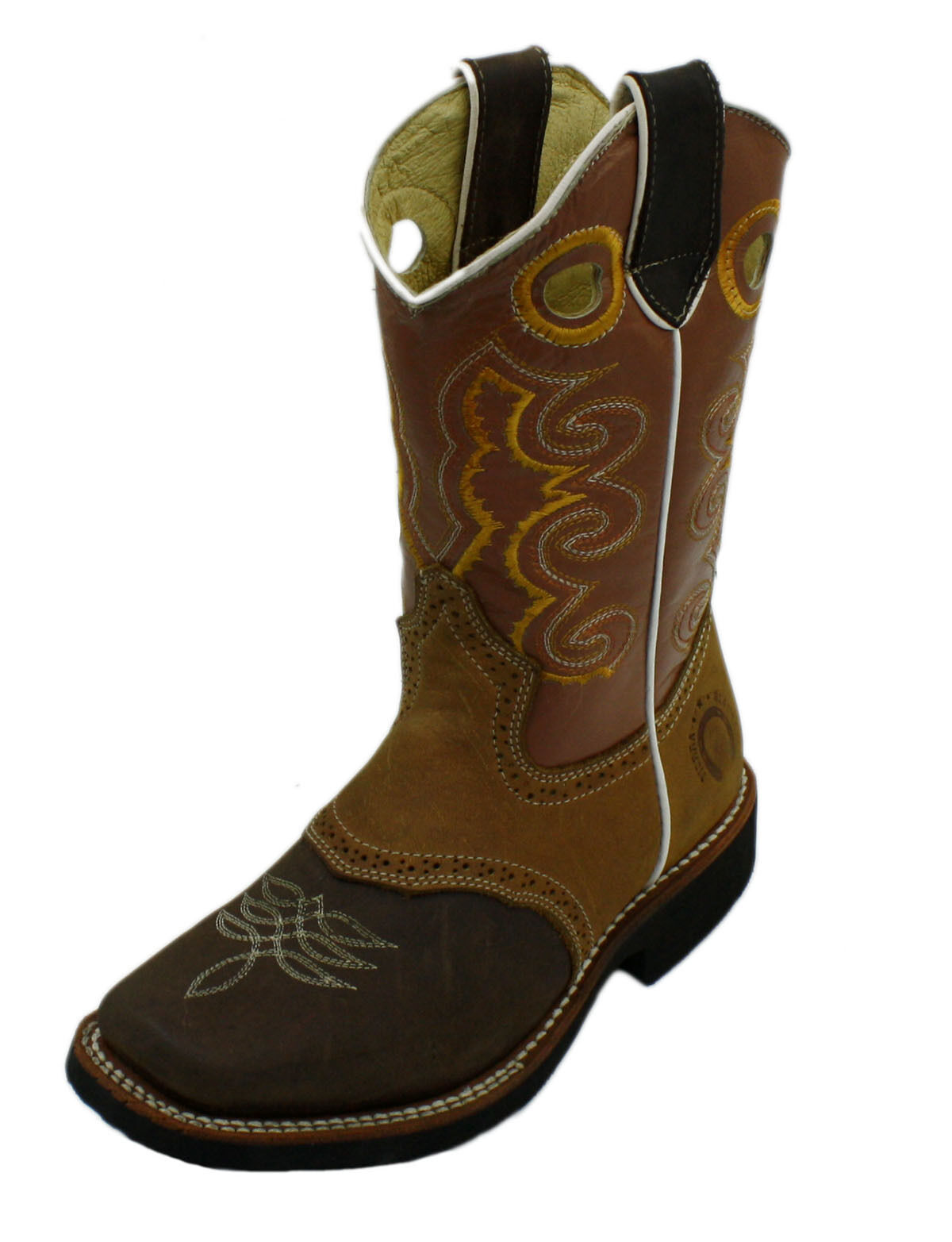 Youth Sizes Kids Genuine Cow Boy Leather Boots Style DB-Youth Boots