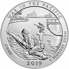 2019 - ATB 5oz Silver War in the Pacific National Historical Park Bullion Coin