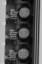 BELOVED INFIDEL TRAILER SUNDAY NIGHT MOVIE B & W 16MM FILM  ROLLED NO REEL B55