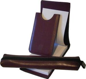 Omega ladymatic ordning reda leather business card holder notepad image is loading omega ladymatic ordning amp reda leather business card colourmoves