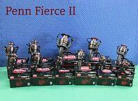 Penn Fierce Ii Saltwater Spinning Reels Choose Model