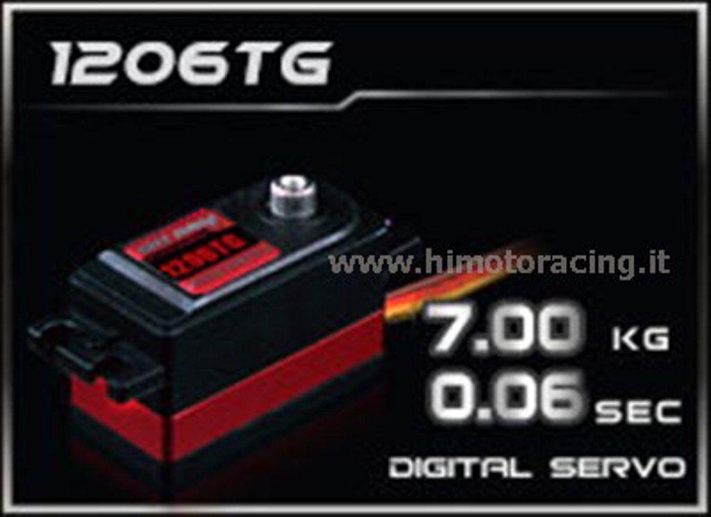 HD-1206TG Servo Digitale 7,0Kg  low profile  energia HD-1206TG Ingranaggi in titaNI  disponibile