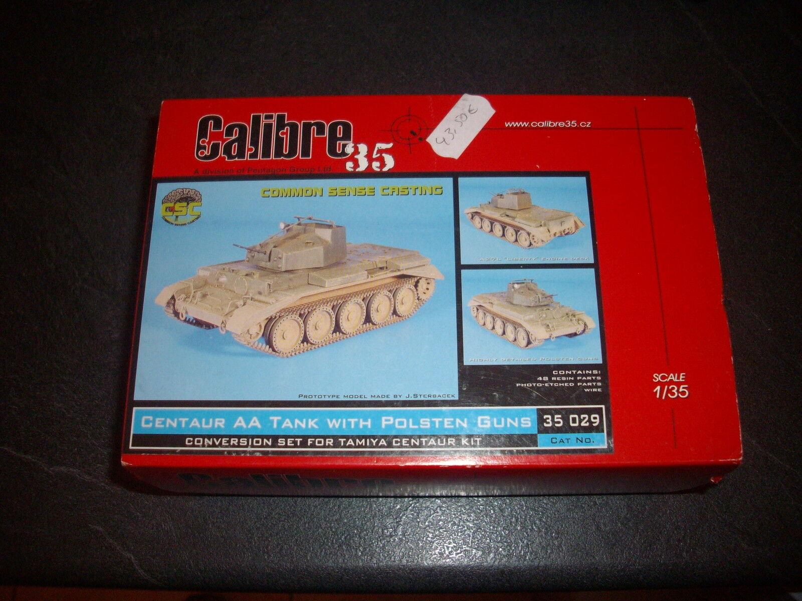CALIBRE 35 CENTAUR AA TANK WITH POLSTEN GUNS  REF 35029