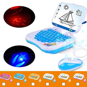 Children-Educational-Learning-Study-Game-Toy-Laptop-Computer-For-Kids-Gift-ZB1X