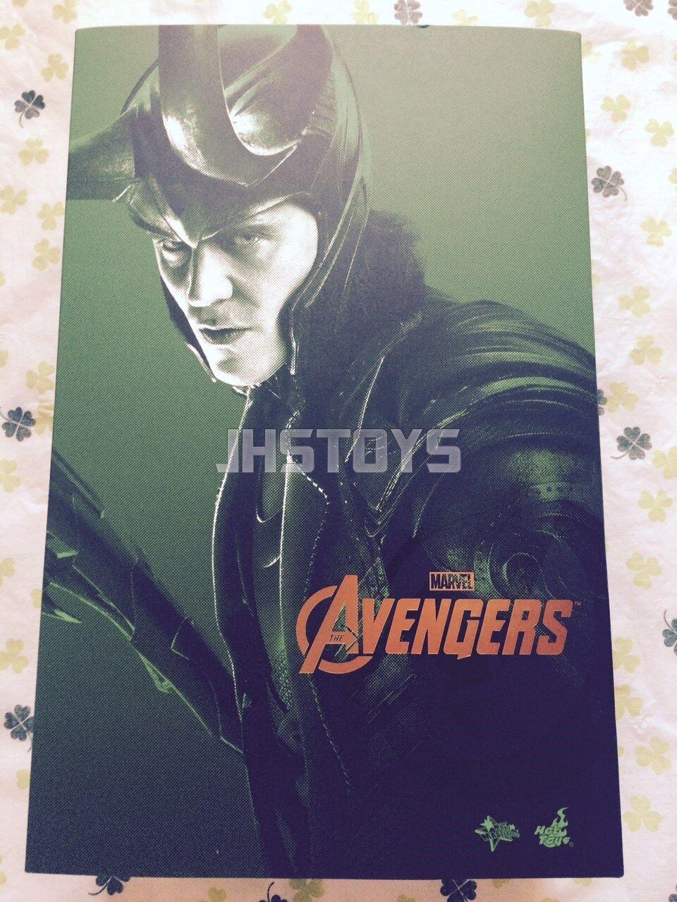 Hot Toys 1 6 The Avengers Loki MMS176 Japan EMS