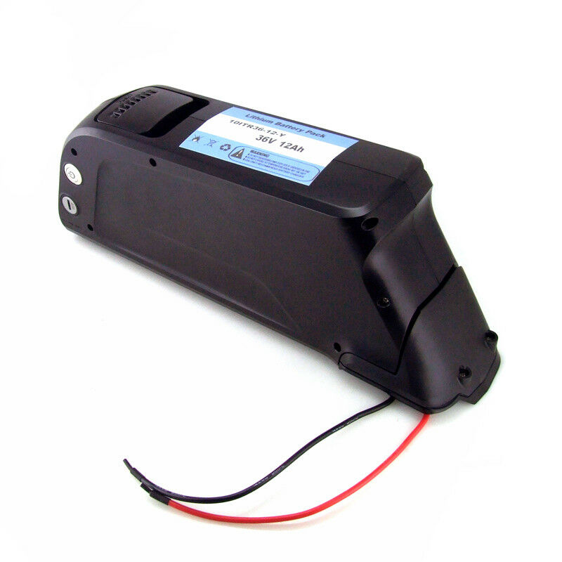 Ultramax 36V-12AH Li-ion E-Bike Battery fits for Down Tube Electric Bicycle