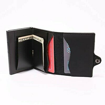 Porta Carte Di Credito Banconote Bancomat Soldi RFID Portafoglio Uomo Donna