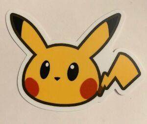 Pikachu Pokemon Skateboard Sticker #3