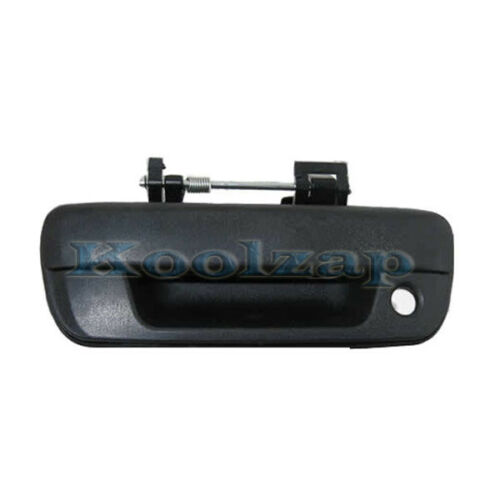 04-12 Colorado Canyon Black Smooth Tailgate Liftgate Door Handle W//Keyhole