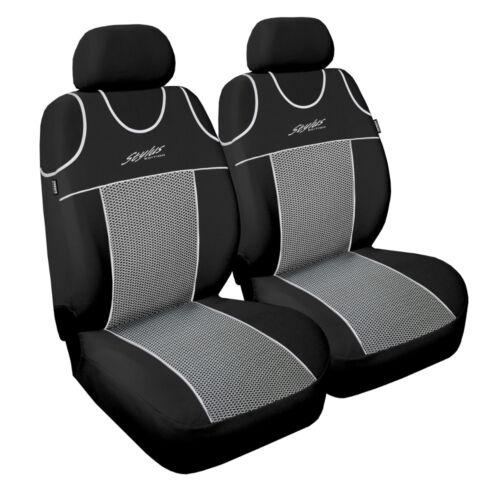 Front seat covers fit VAUXHALL ADAM VEST SHAPE 2 x 2