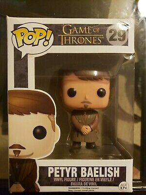 Funko POP PETYR BAELISH Game of Thrones Figure Action Statue Collection Geek