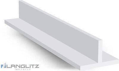 Alu T-Profil Aluprofil Aluminium T-Profil Aluminiumprofil bis 2,50 m