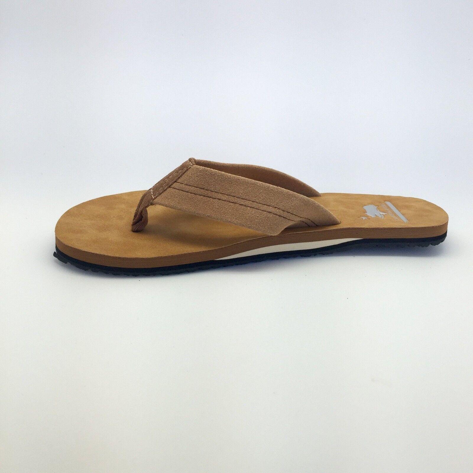 HBCali Napa Womens Non-slip Beach Sandals Tan Beige Size 5 6 7 8 9 10 Flip Flops