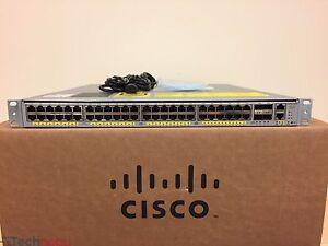 Cisco-Catalyst-WS-C4948E-E-48-Port-Gigabit-4x-10G-SFP-Layer-3-Switch-Dual-Power