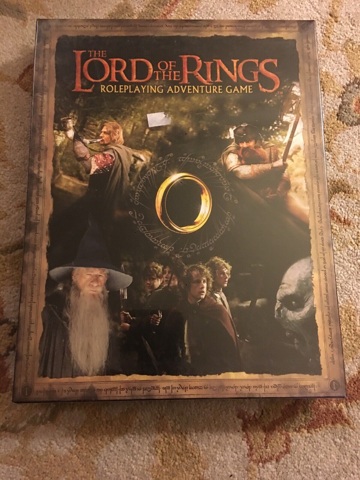 2001 The Lord of the Rings - Role-playing Adventure Game Factory Sealed Look