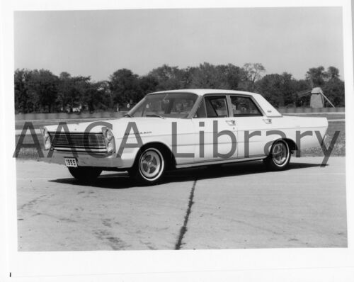 Ref. # 42781 Factory Photo 1965 Ford Galaxie 500 Fordor at Greenfield Village