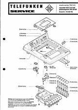 Telefunken Service Manual für studio center 7051 REC/Pho HCC 6A/HS 20