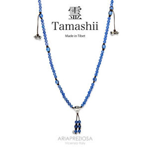 COLLAR-ORIGINAL-NACIONALIDAD-TIBETANA-TAMASHII-MUDRA-AGATA-AZUL-NHS1500-18