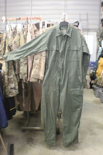 ARMY WARM WEATHER UTILITY COVERALLS OLIVE DRAB SIZE MEDIUM REGULAR NEW