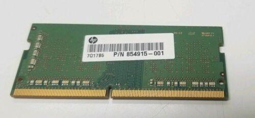HP Z4Y84AA#ABA 4GB DDR4 SODIMM 260pin 854915-001