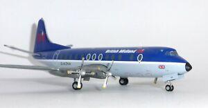 Vickers Viscount British Midland Herpa Collectors Model Scale 1:200 559591 G