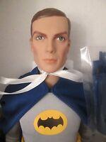 Batman 1966 Tonner 17 Doll Dc Stars 500 Made Adam West Portrait Sculpt