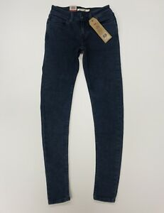 Levi-039-s-535-Damen-Super-Skinny-Jeans-Groesse-25w-30l