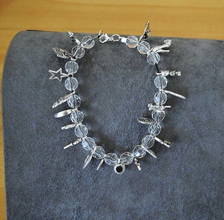 Lovely Beaded Handmade Charm Bracelet