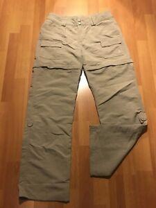 The North Face Convertible Senderismo Cargo Pantalones Para Mujer Talla 6 100 Nylon Roll Up Ebay