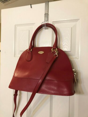 Coach COACH (F33909) Red Dome Cora Satchel Shoulde