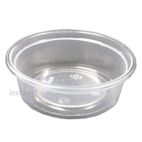 500 contenants en plastique avec Couvercles Jetables Party Tableware Food Storage 8 oz environ 226.79 g