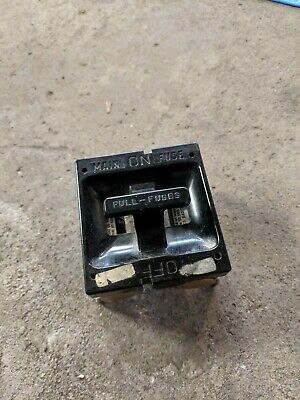 vintage amp fuse box old    fuse       box       fuse    pull out main    fuse    60    amp    ebay  old    fuse       box       fuse    pull out main    fuse    60    amp    ebay