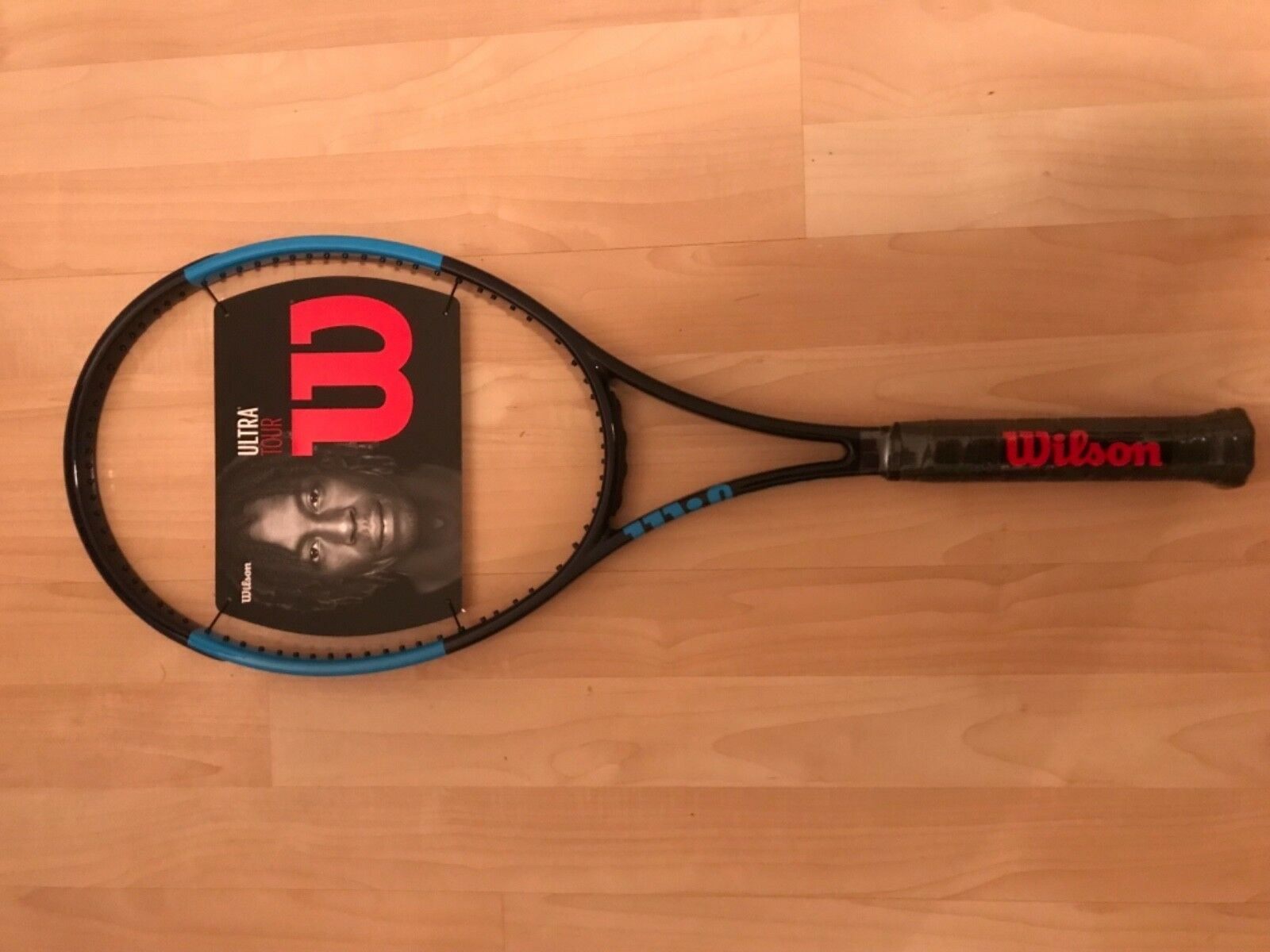Wilson Ultra Courter,Brand Tour,V2.0,All Courter,Brand Ultra Nuovo W/Tags,4-3/8