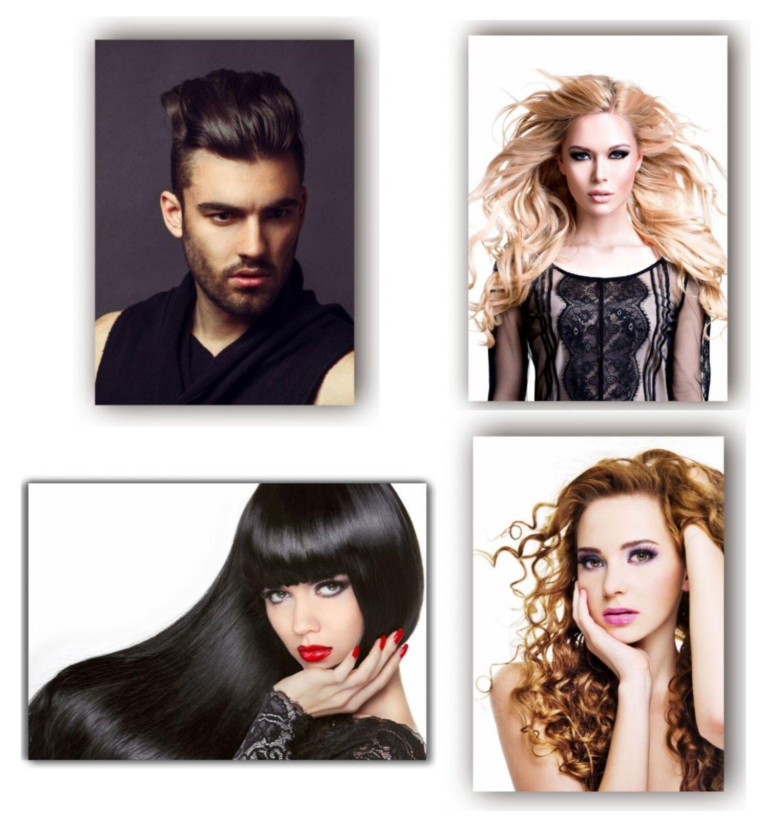 4 Poster Plakat Beauty Friseursalon Friseur A 3 Kosmetik Beauty Man
