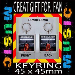 Feed The Machine Nickelback Album Cover Keyring Key Chain Or Fridge