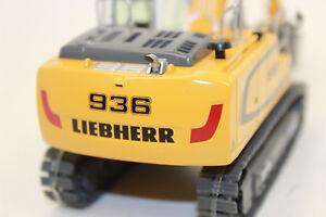 NZG-957-Liebherr-R-936-kettenbagger-raupenbagger-animal-IV-1-50-nuevo-en-OVP