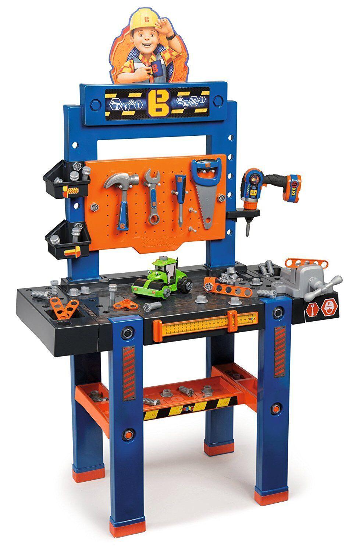 Smoby 360504 - Bob der Baumeister Werkbank-Center Kinder Spielwerkzeug NEU&OVP