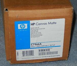 HP C7966A Hewlett Packard Canvas Matte 24 X 35