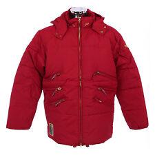 NEW Mens Designer Winter White Trash Jackets Outwear