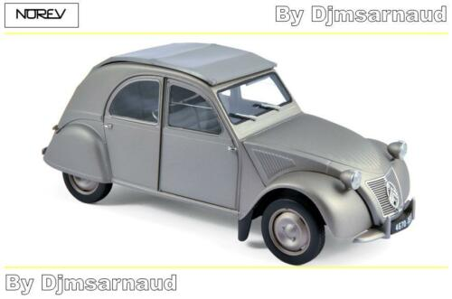 Citroën 2 CV A de 1950 Grey NOREV Echelle 1//18 NO 181497