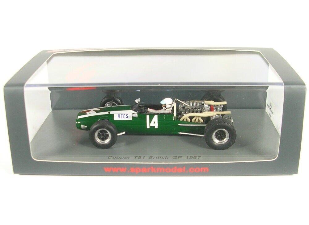 Cooper T81 No.14 British British British Gp Formula 1 1967 (Alan Rees) 7b0936