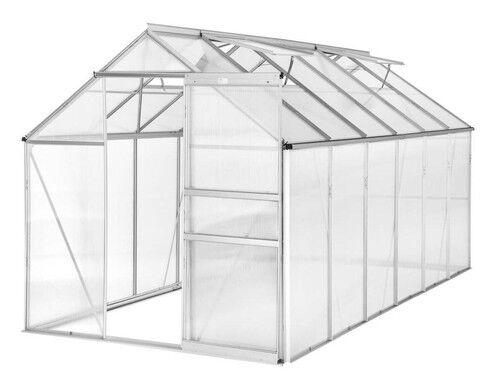 alu gew chshaus 11 13m gartenhaus tomaten treibhaus garten pflanzenhaus g nstig kaufen ebay. Black Bedroom Furniture Sets. Home Design Ideas