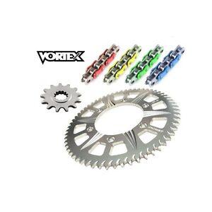 Kit-Chaine-STUNT-15x54-ZX-6R-600-636-07-16-KAWASAKI-Chaine-Couleur-Jaune