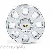 Chevy Silverado Hd 2500 3500 8lug 8x6.5 20 Chrome Wheels Rims Suburban 5501