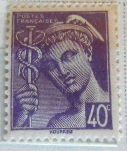 France-1938-40-Stamp-40c-MNH-Stamp-StampBook1-47