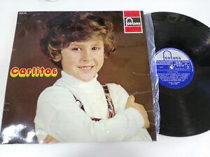 Carlitos-WALT-DISNEY-Negrito-12-034-Vinyl-LP-G-VG-Spanisch-Edition-1972-Fontana